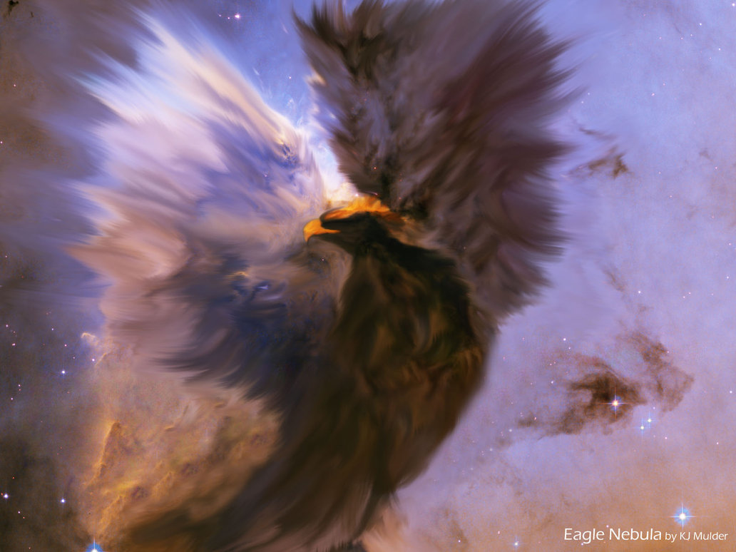 eagle nebula hd-#22