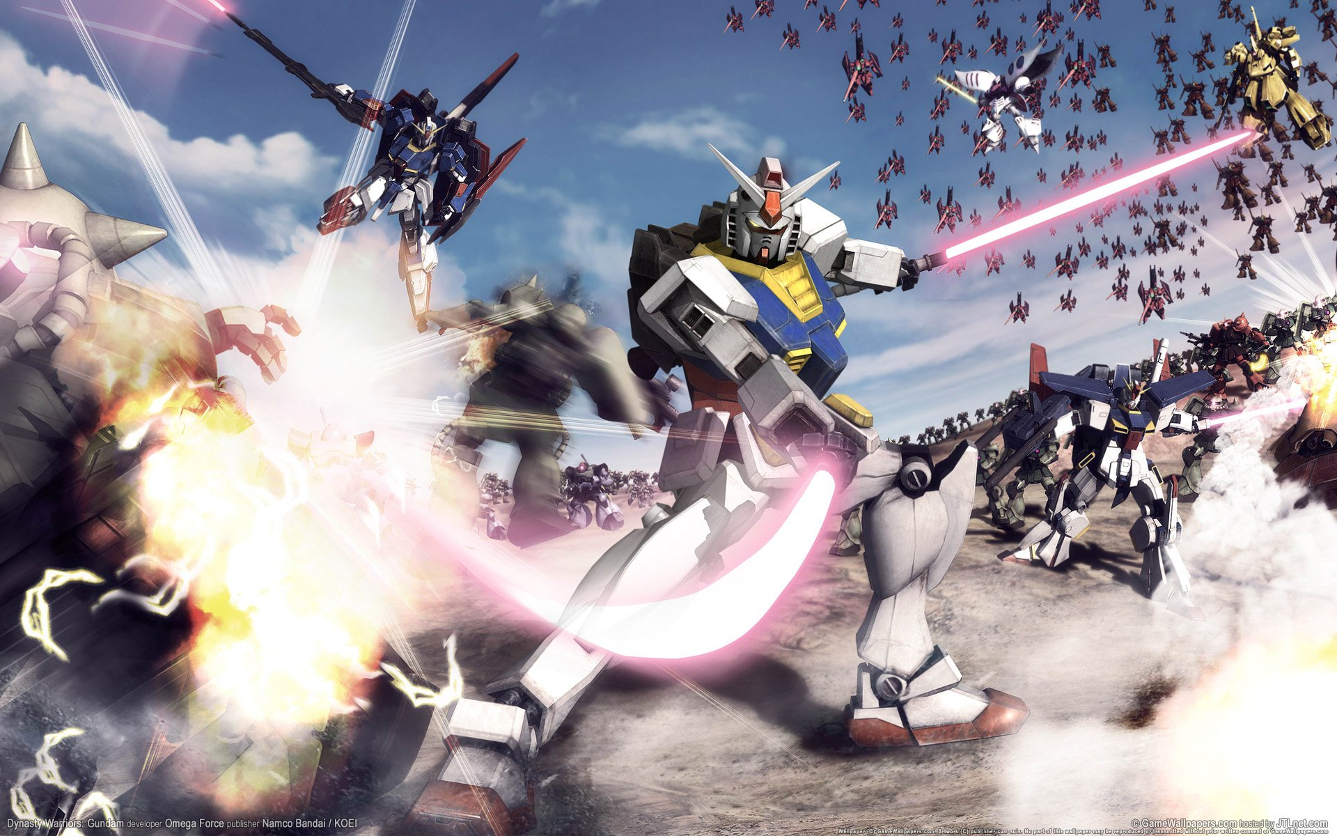 Dynasty Warriors Gundam Wallpapers HD Wallpapers 1920x1200