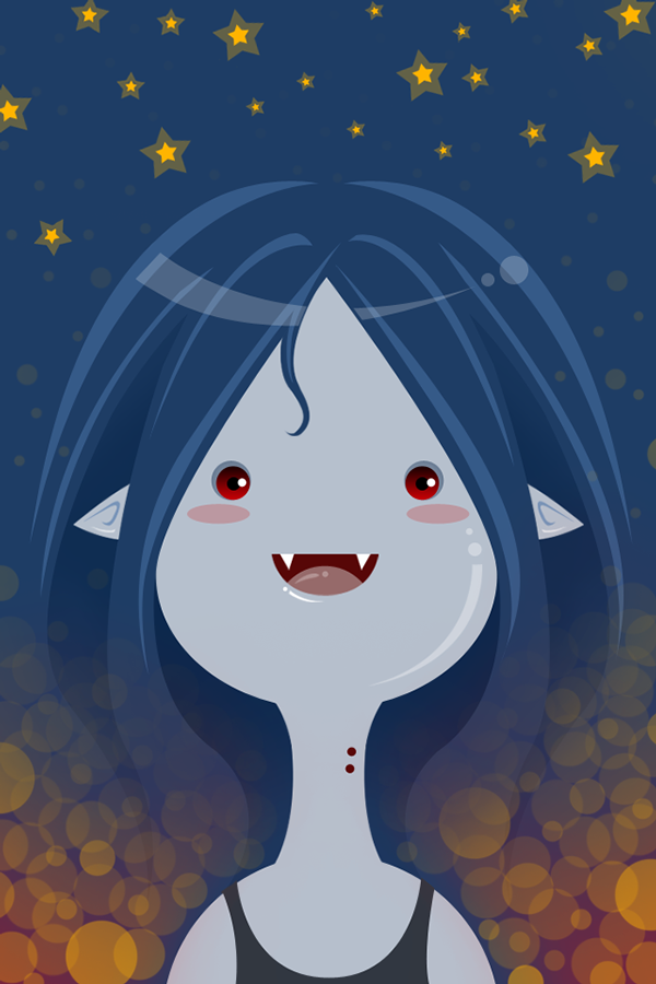 Adventure Time Wallpapers on Behance Marceline Adventure time 600x900