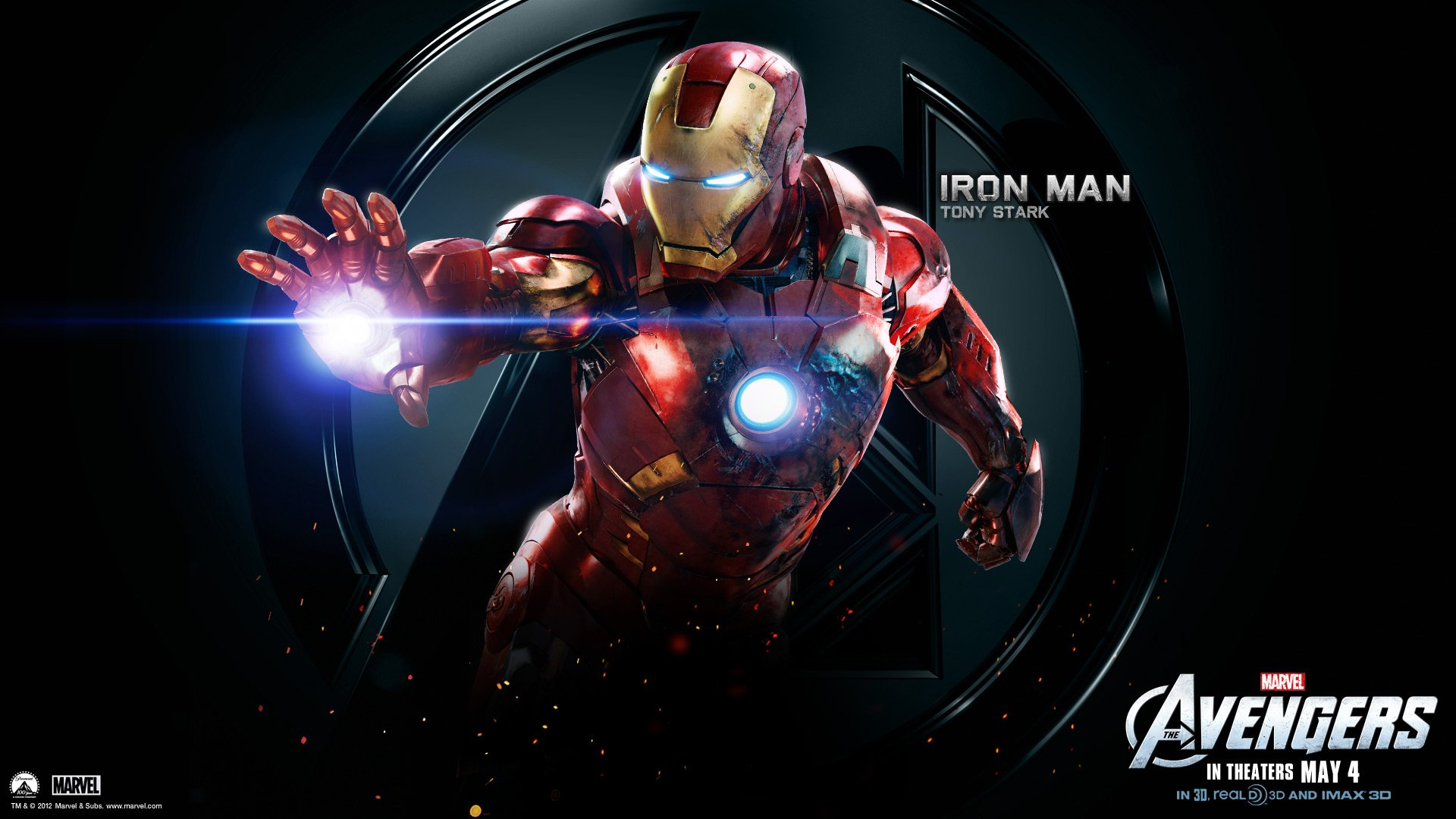 Avengers Wallpapers HD The Avengers Iron Man HD Wallpapers [Avengers 1920x1080
