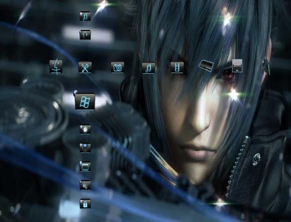 Thme PS3 Final Fantasy Versus 590x449