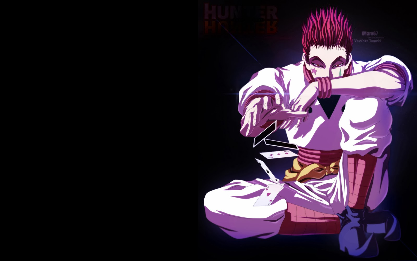 Cards Deviant Art Male Hunter X Hunter 2011 Anime HD Wallpaper n07 1600x1000