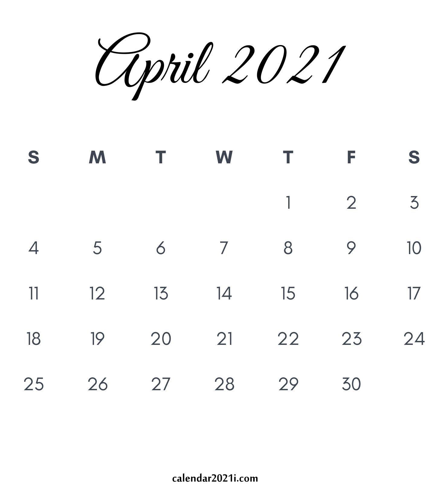 April 2021 Calendar Printable Floral Holidays Wallpaper 1450x1600