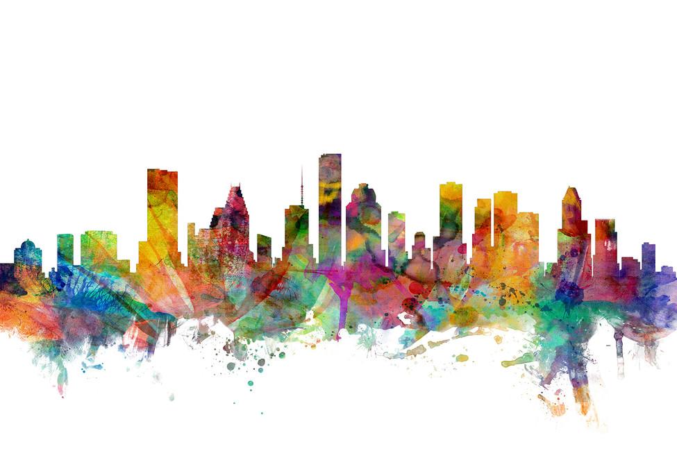 Houston Texas Skyline 975x650