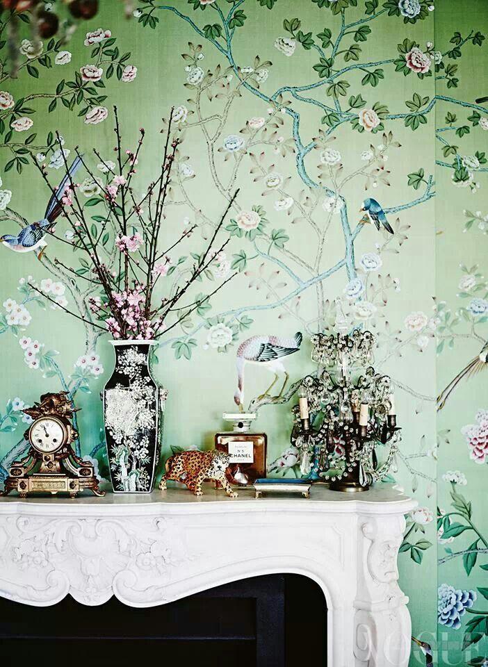 De Gournay wallpaper Wallpaper Pinterest 702x960