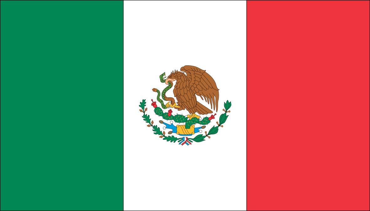 Printable Mexican Flag 1181x675