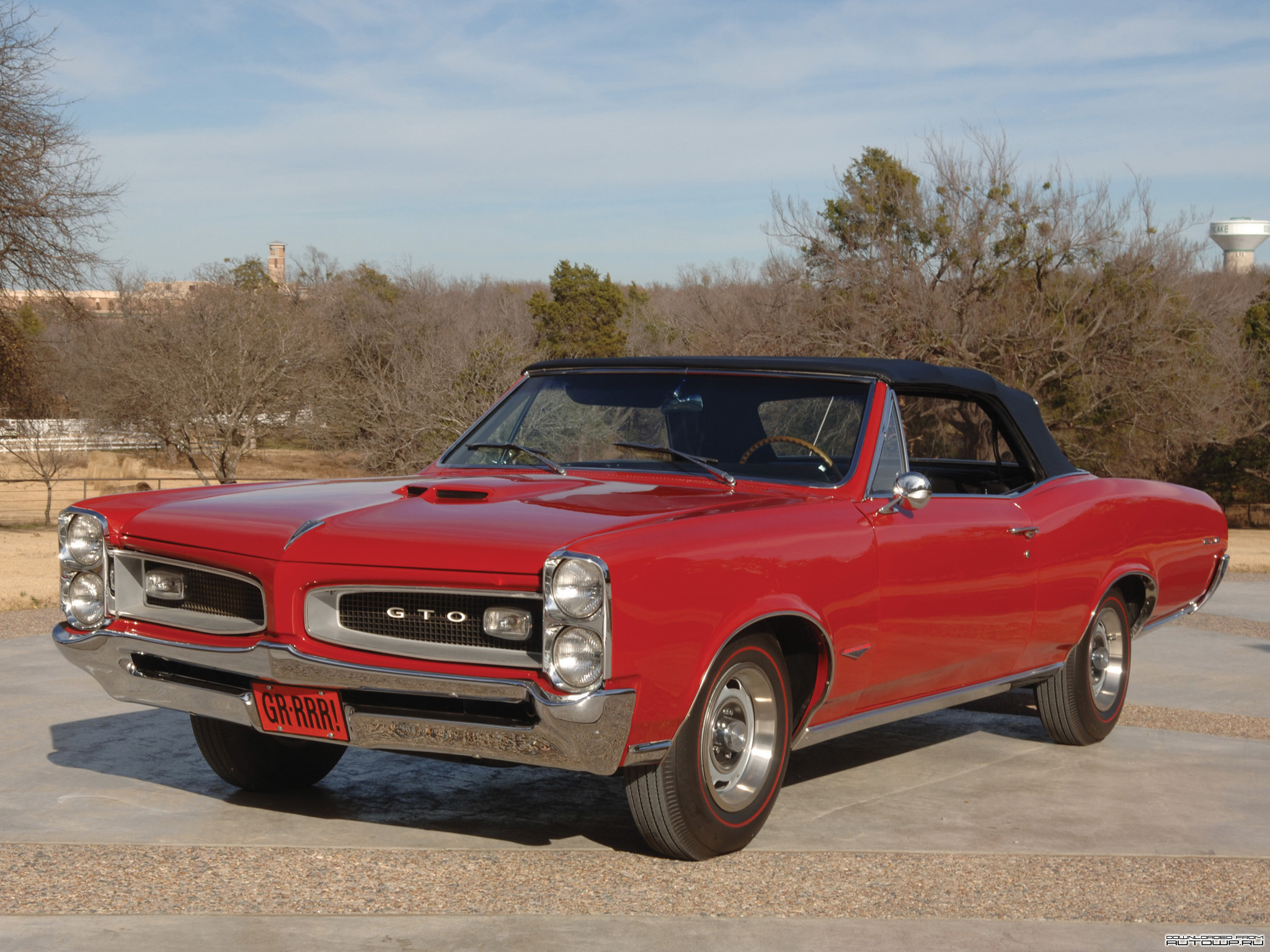 Pontiac GTO Convertible 1966   Wallpaper 22190 2048x1536