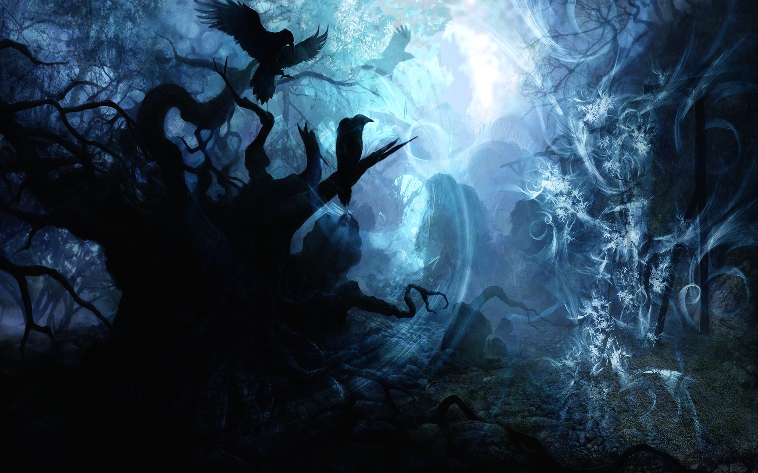 Free Download Dark Fantasy Wallpaper For Desktop 2560x1600 For