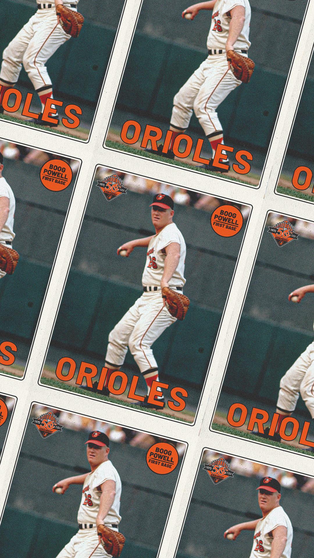 Wallpaper Wednesday Fans Baltimore Orioles 1080x1920