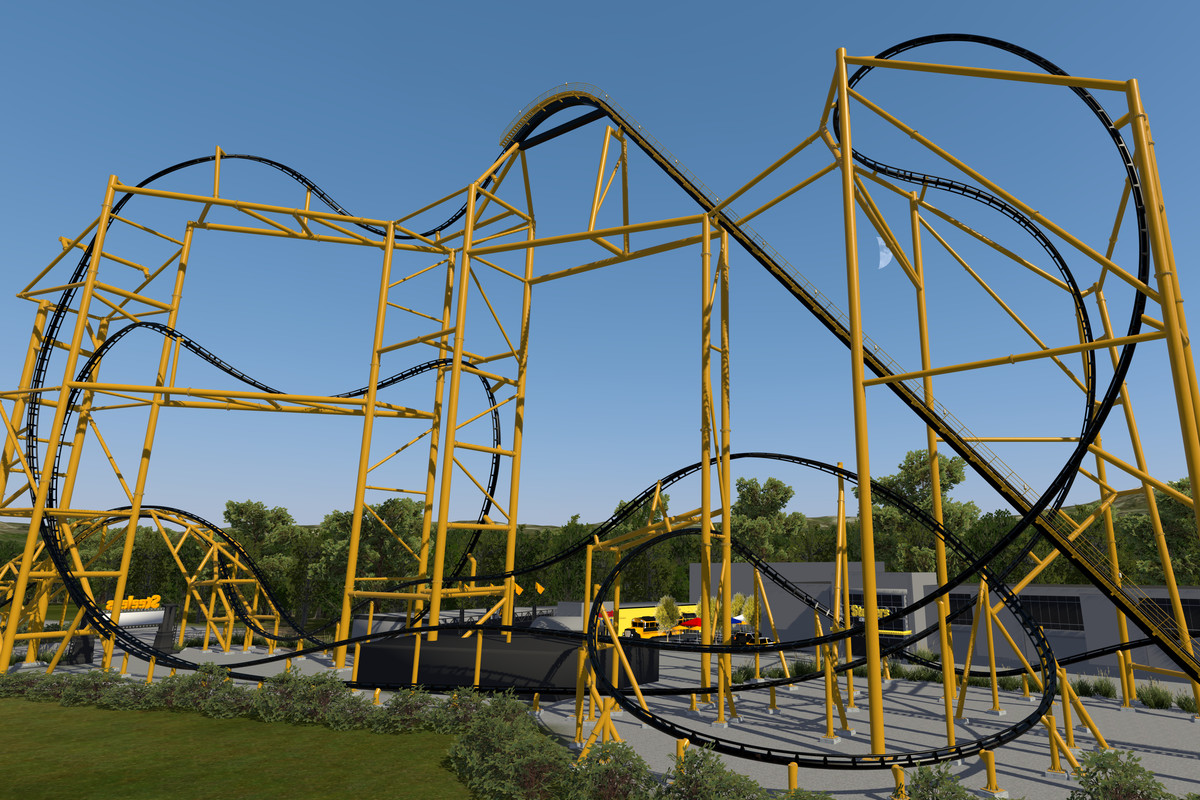 An inside look at Kennywood Parks Steelers themed roller coaster 1200x800
