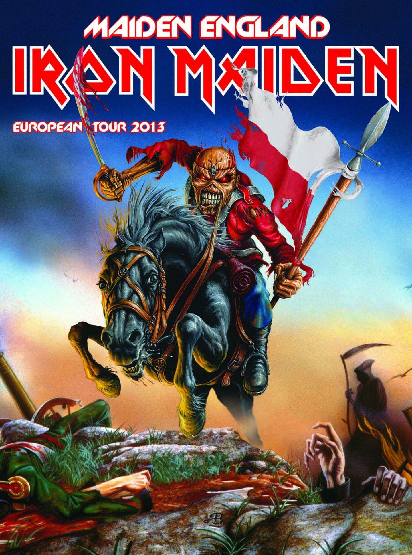 iron Maiden Heavy Metal Power Artwork Dark Evil Eddie 1440x1940