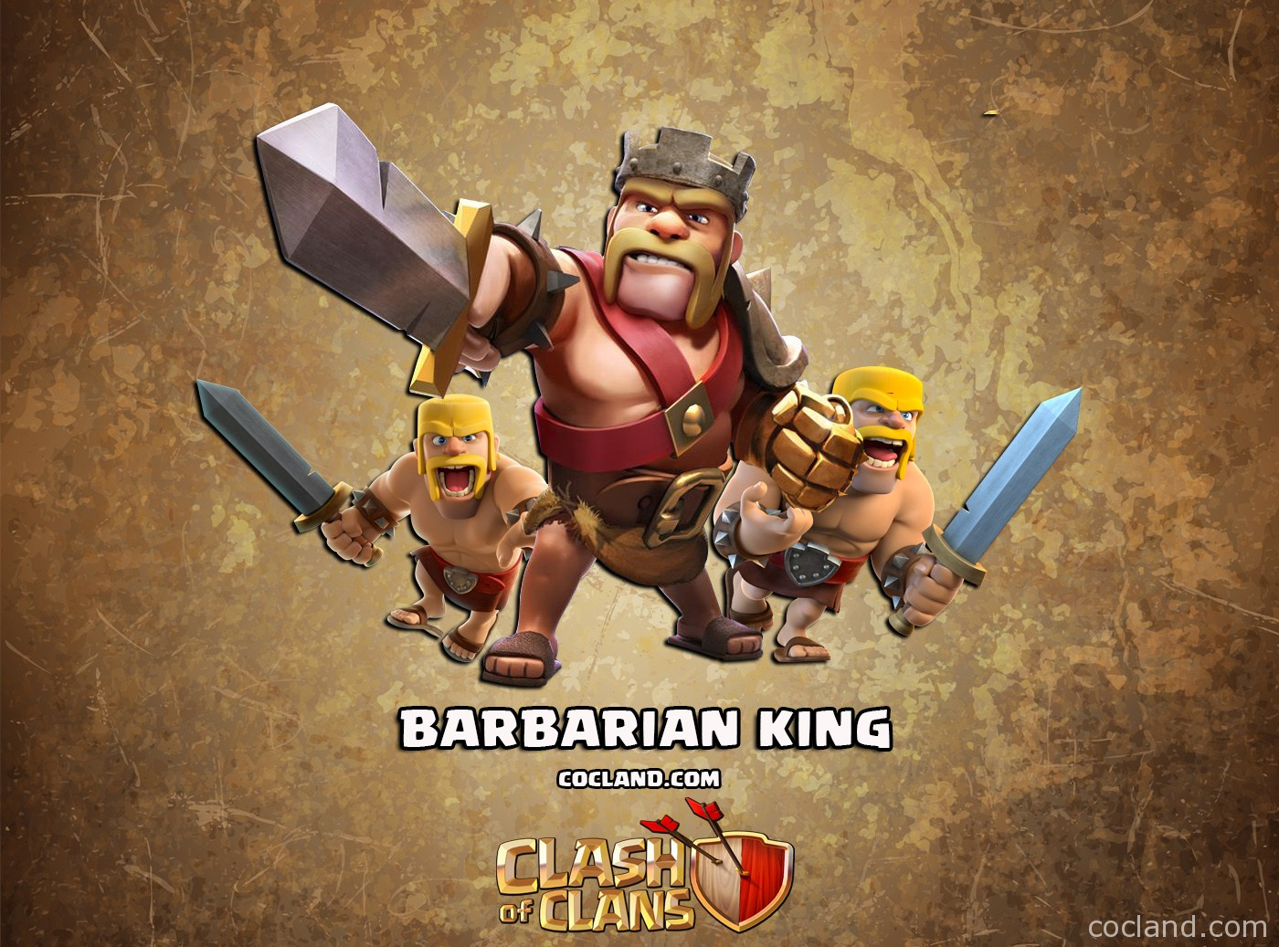 Barbarian King Clash Of Clans CoC Pictures HD Wallpaper 2016 1400x1037