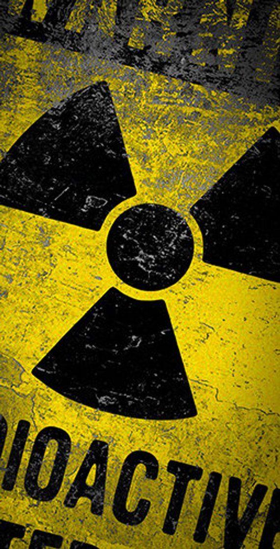 Radioactive Hazardous Materials Themed Light Weight 1x4 570x1118