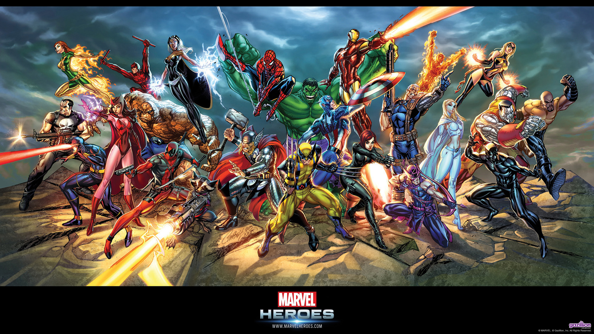 Pics Photos   Marvel Heroes Hd Wallpaper 36 1920x1080