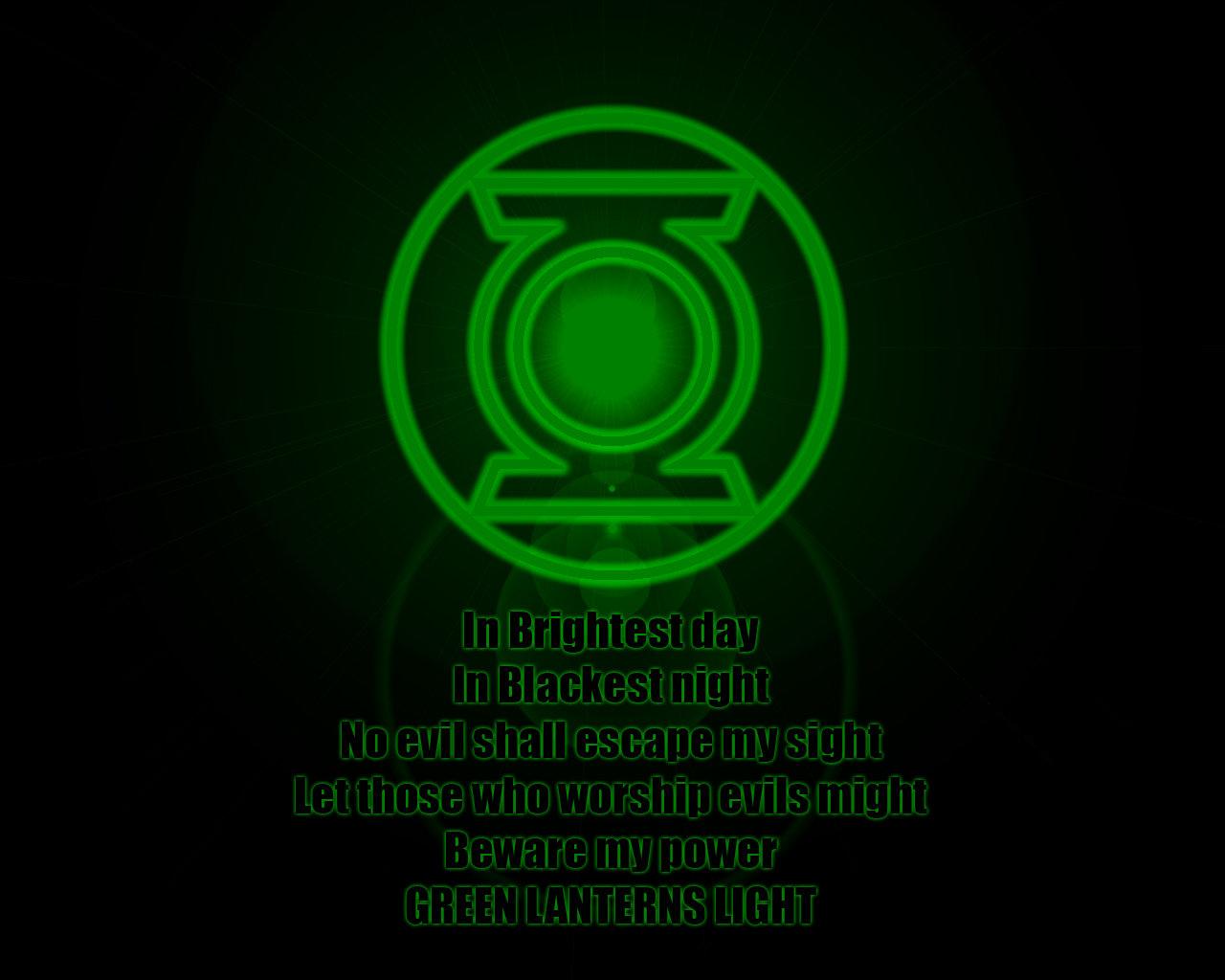 Green Lantern Oath 1280x1024