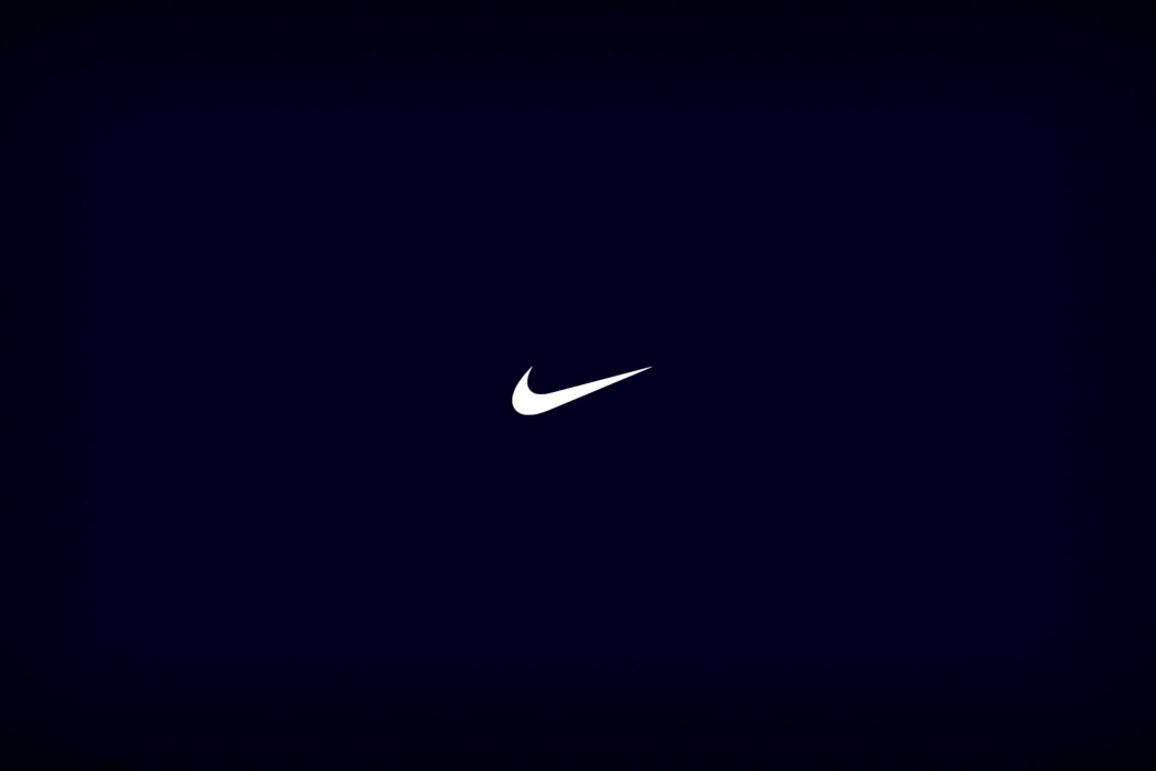 Nike Blue Color Logo wallpaper Best HD Wallpapers 1050x700