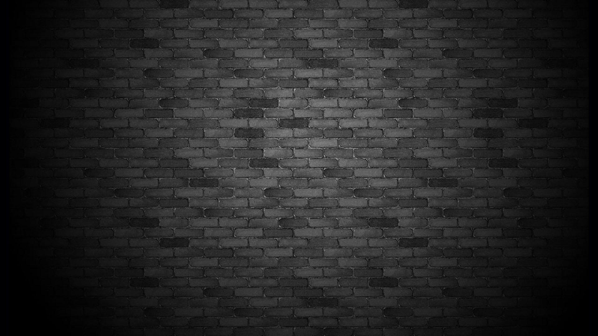 [48+] Black Brick Wallpaper on WallpaperSafari