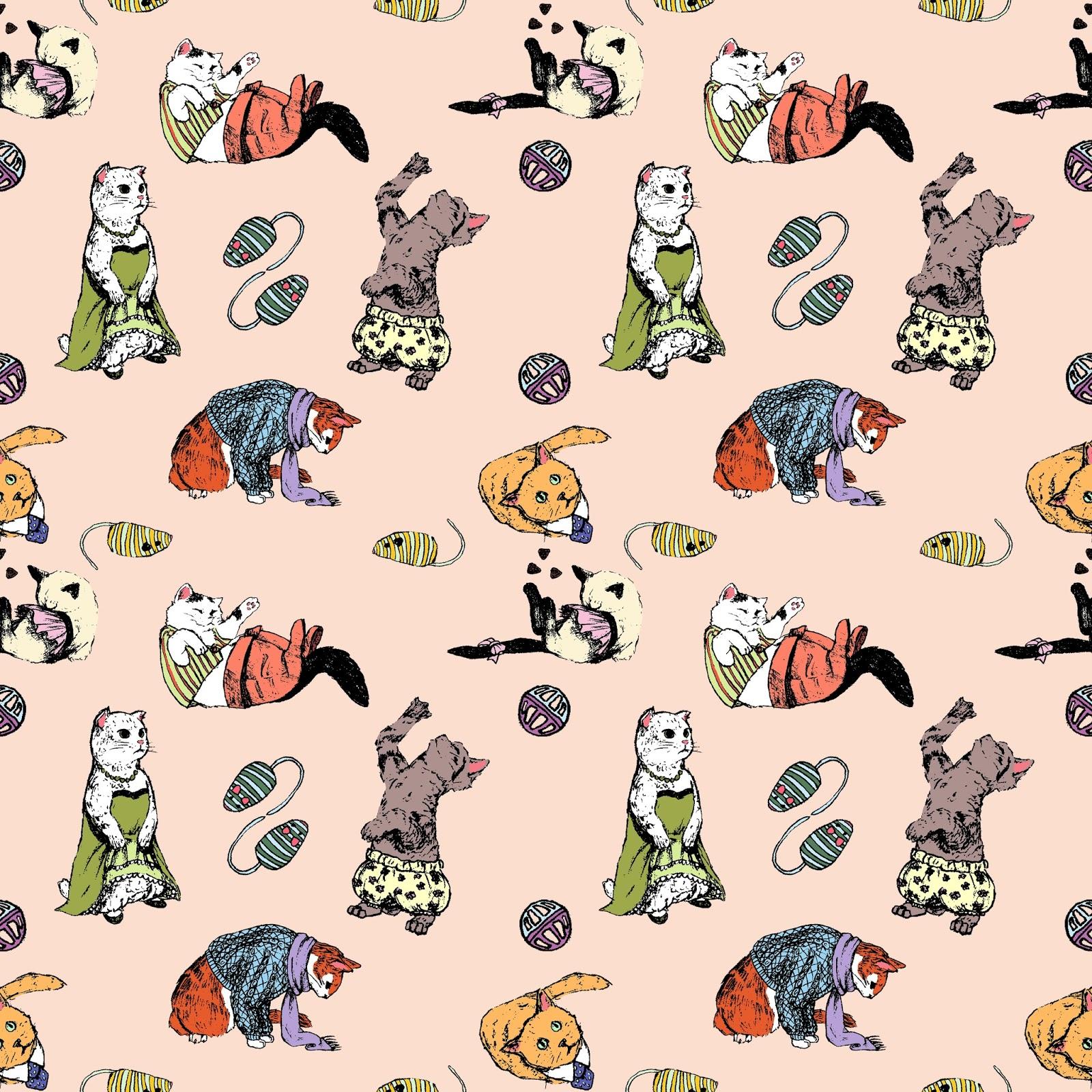 Cat Background Wallpaper Tumblr Wallpapersafari
