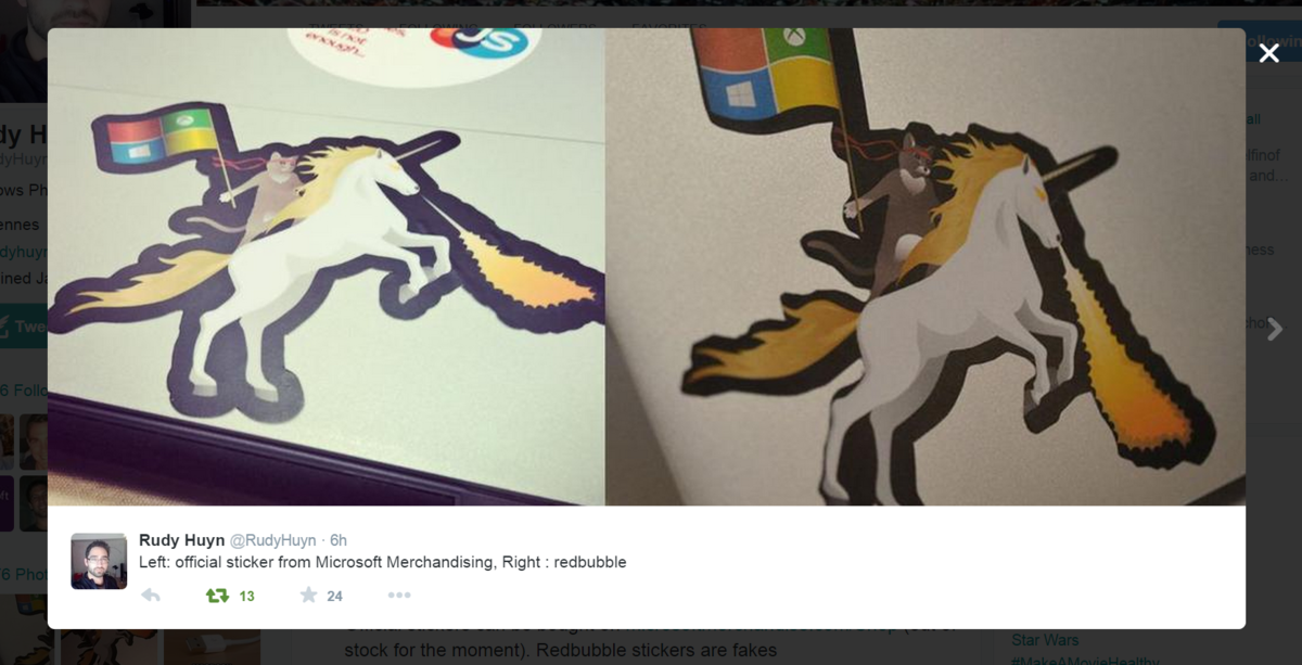 Here is the Microsoft Ninja Cat on a Unicorn for your Microsoft Band 1200x613