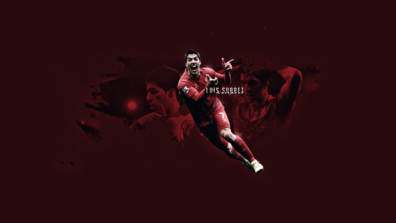 Luis Suarez Stunning Wallpapers   Football HD Wallpapers 1366x768