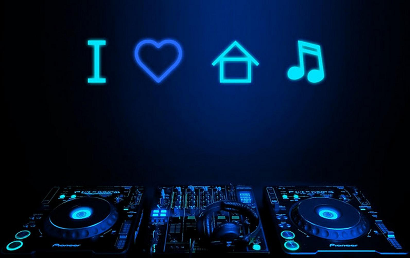 71 I Love House Music Wallpaper On Wallpapersafari