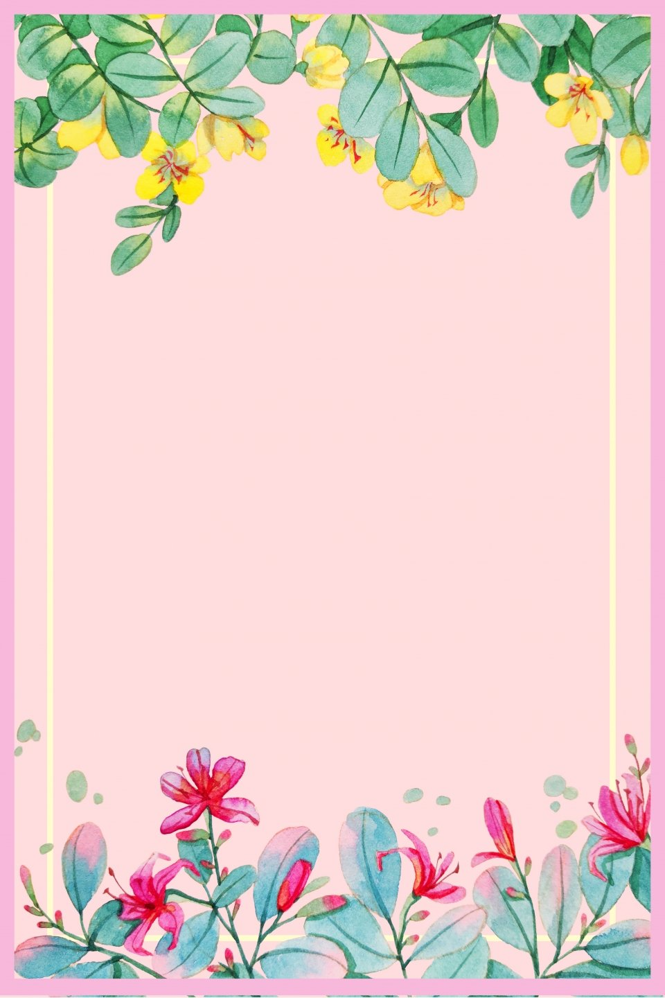 Pink Plant Art Fashion Clothing Background Flower Tree Summer 960x1440