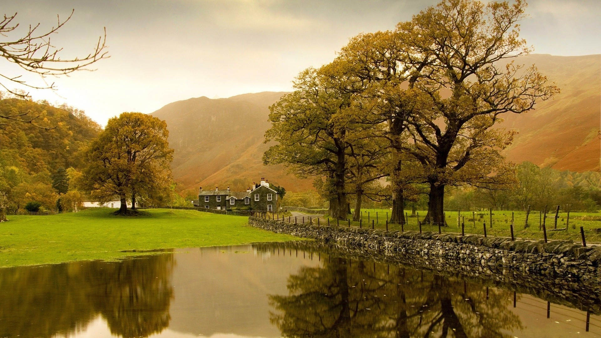 English countryside wallpaper 4249 1920x1080