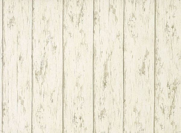Weathered Barn Wood Off White Brown Wallpaper Double Roll eBay 600x440