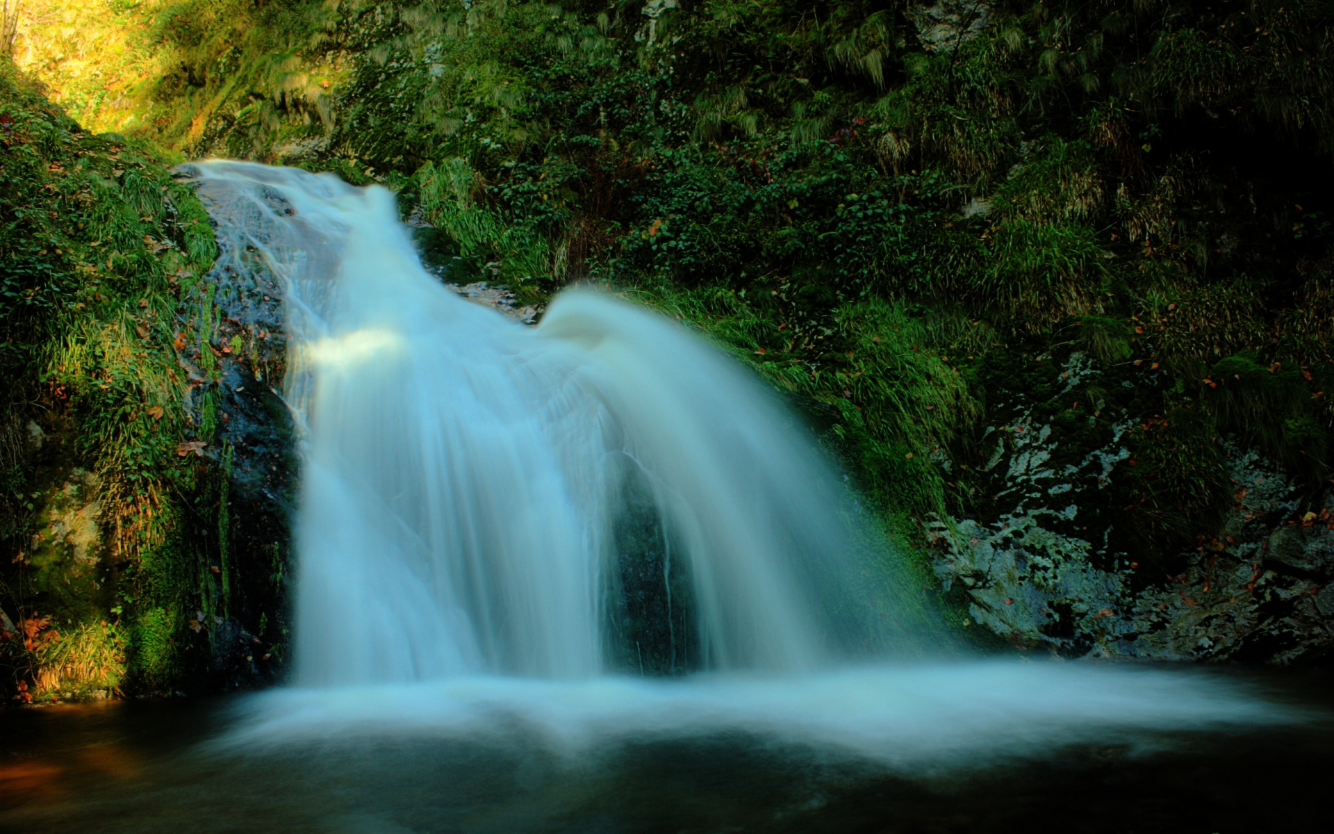 1920x1200 waterfall desktop pc and mac wallpaper