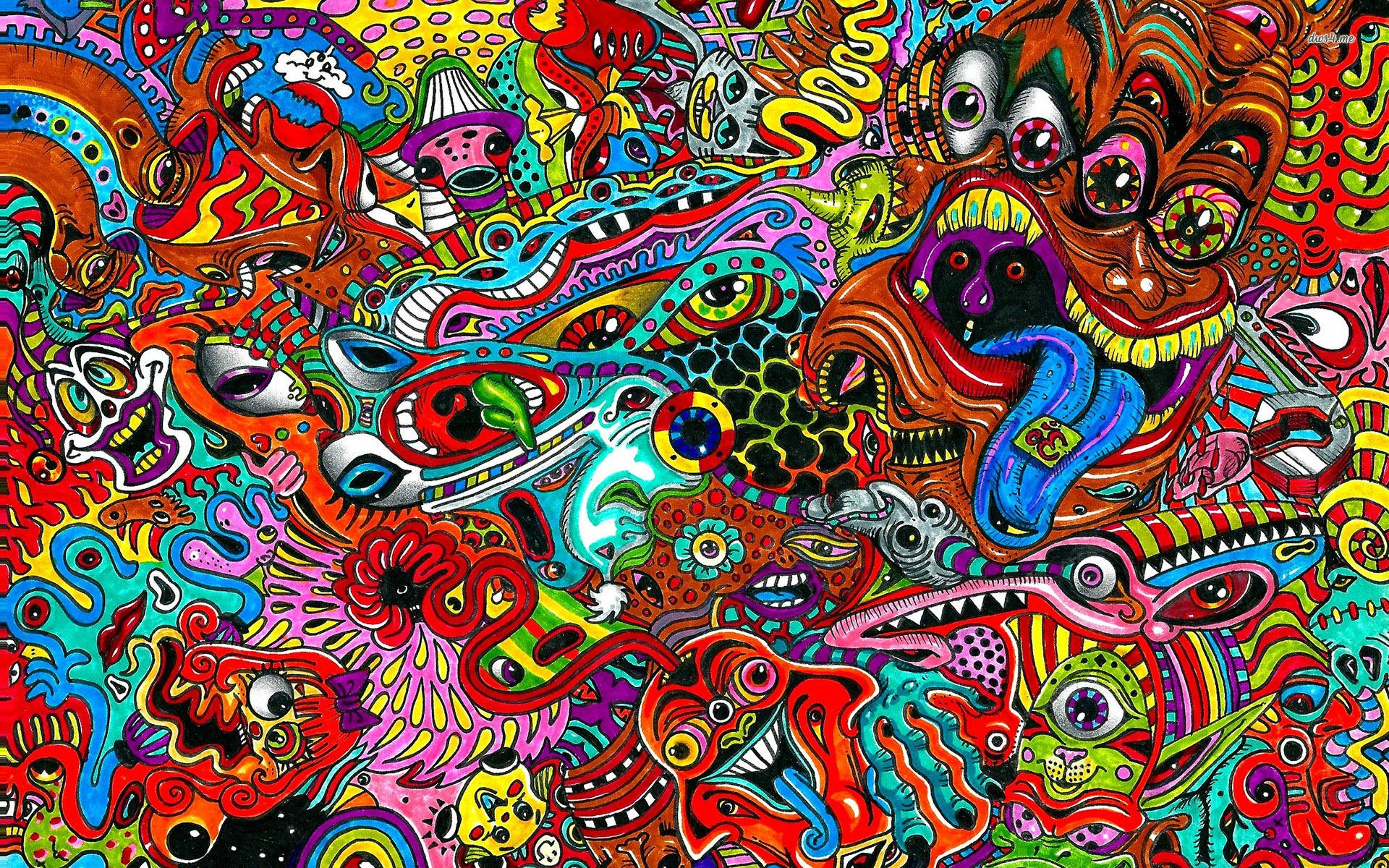 18 Psychedelic Backgrounds Wallpapers Images 1920x1200
