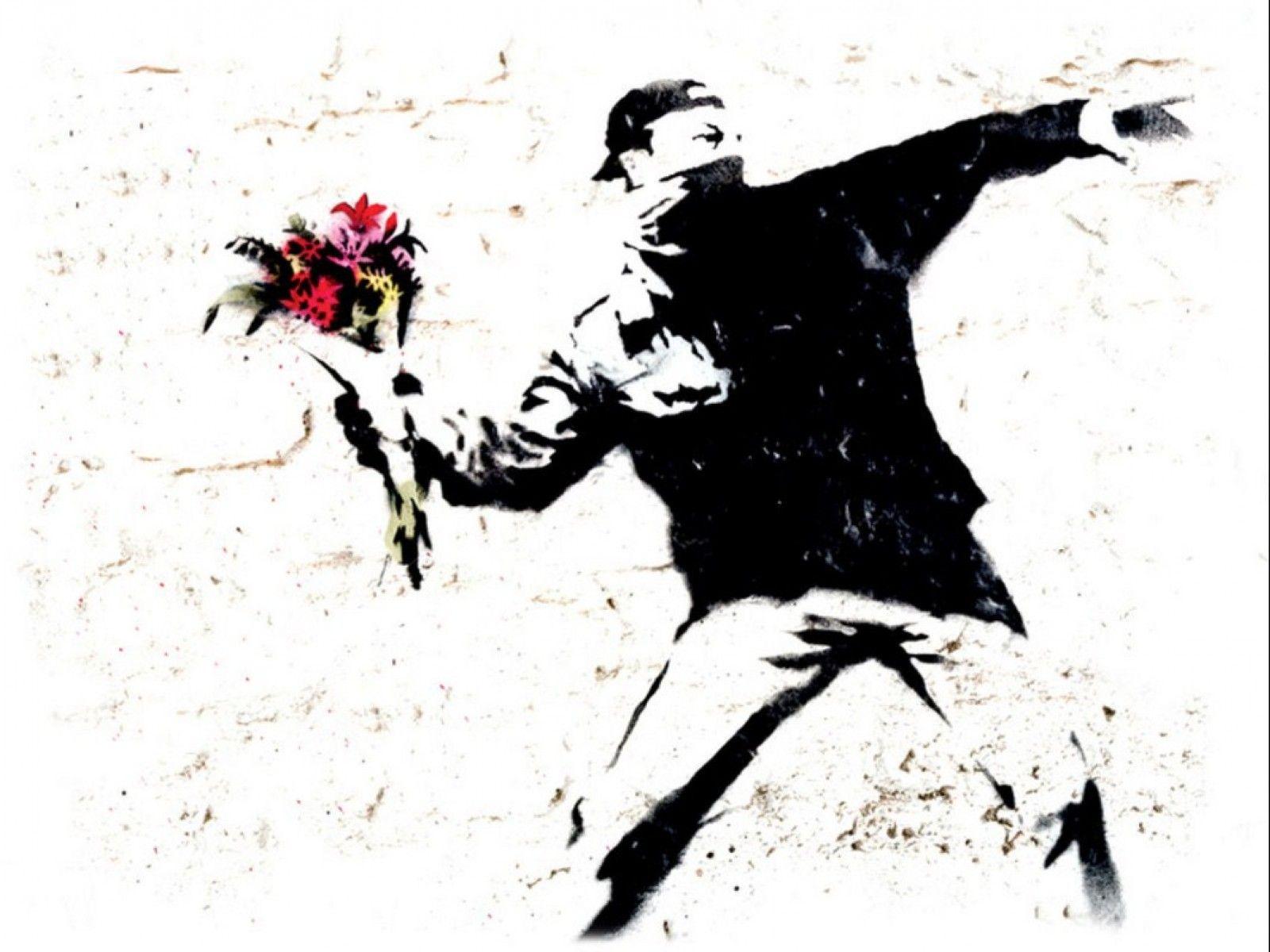 72 Banksy Hd Wallpaper On Wallpapersafari