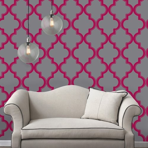 Adhesive Temporary Repositionable Wallpaper contemporary wallpaper 500x500