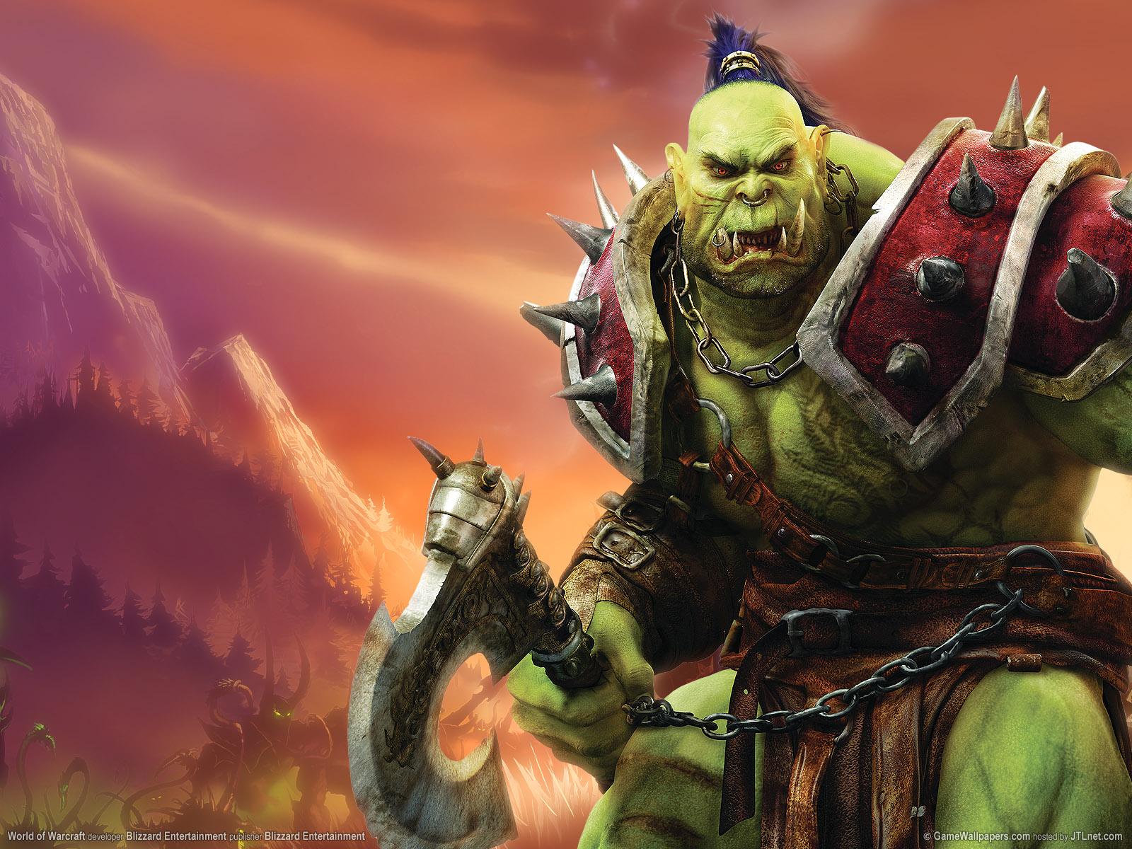 Pin World Of Warcraft Orc Wallpaper 1600x1200