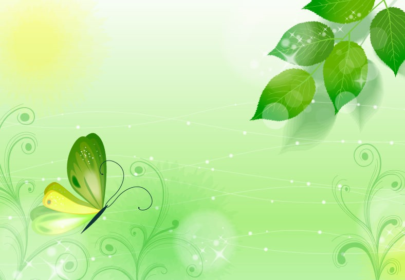 Spring Green Background Vector Illustration Vector Graphics 788x546