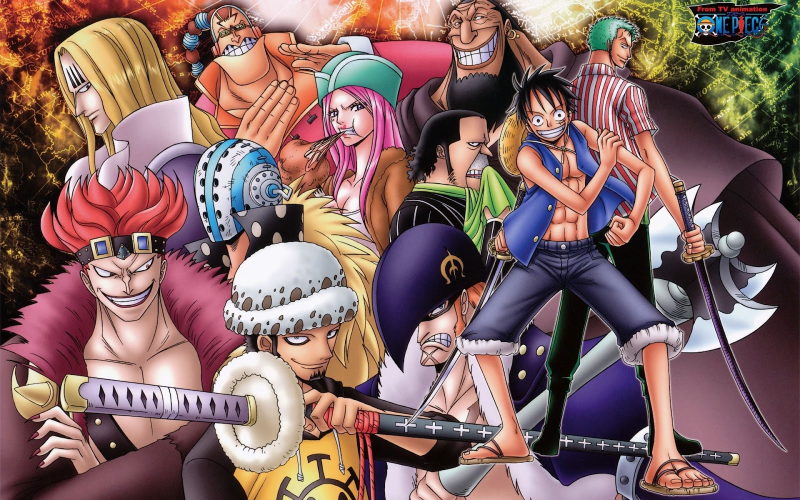 Free Download Wallpaper One Piece New World Hd One Piece One Piece
