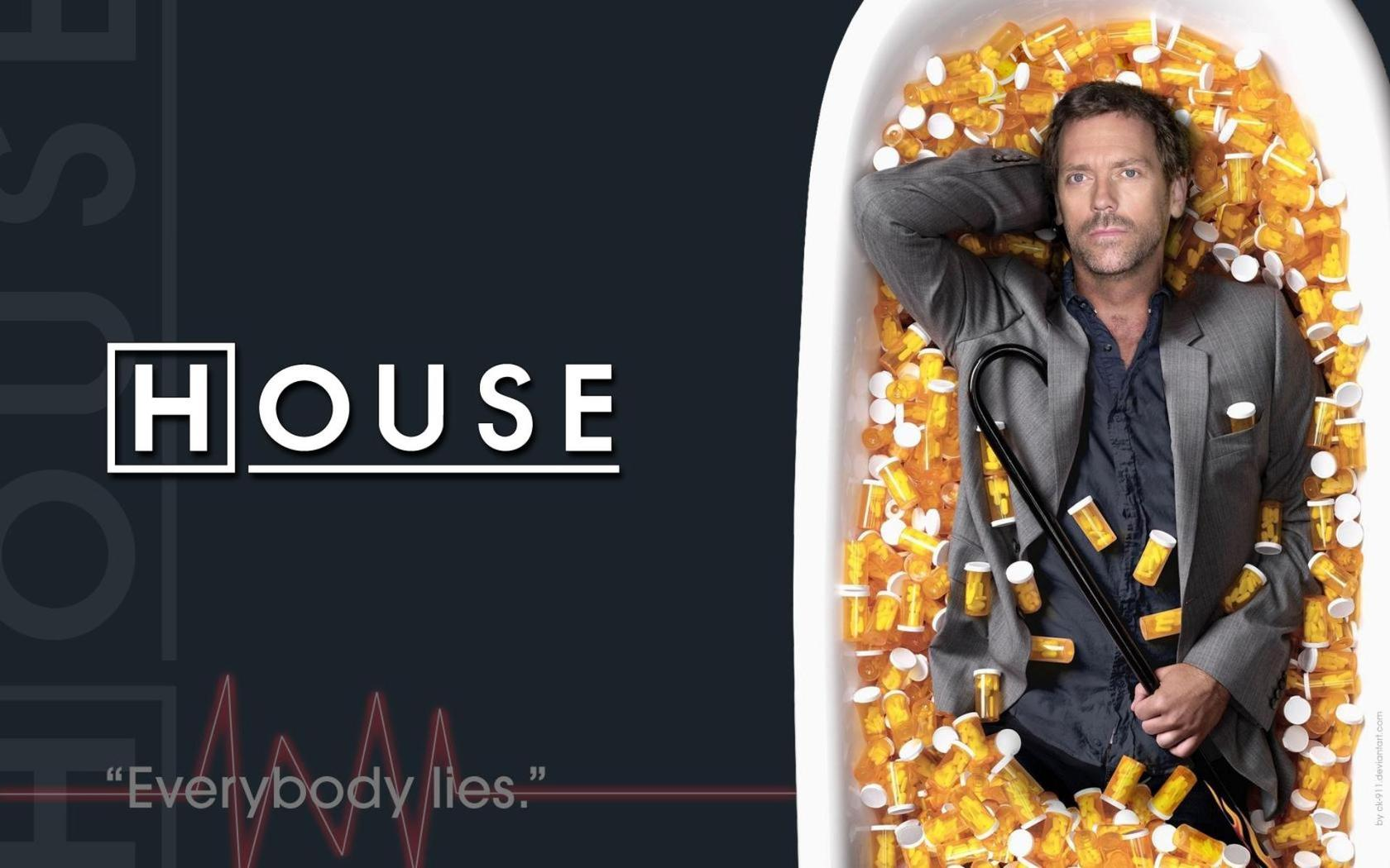 Download Dr Gregory House   House MD wallpaper 1680x1050
