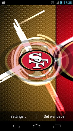49ers hd wallpaper impremedia view bigger san francisco 49ers wallpaper for android screenshot voltagebd Images