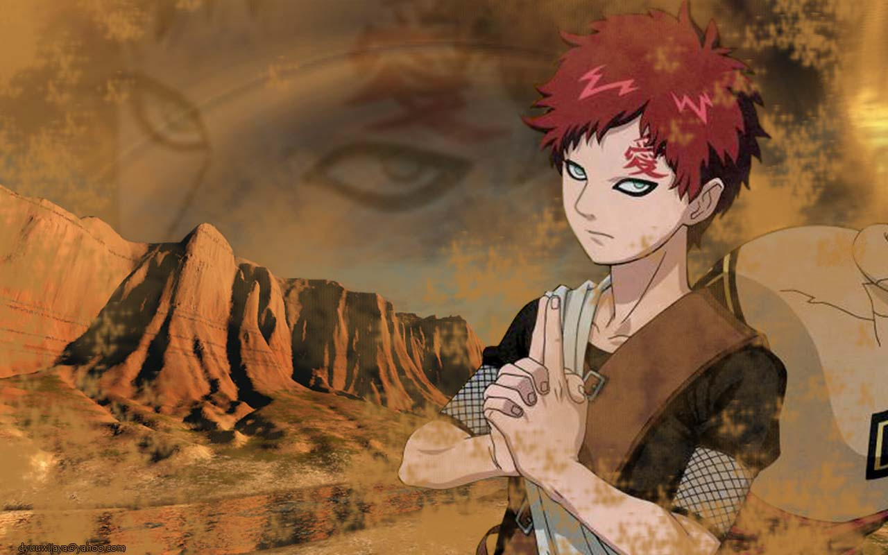 Gaara of Suna images Gaara wallpaper photos 27045320 1280x800