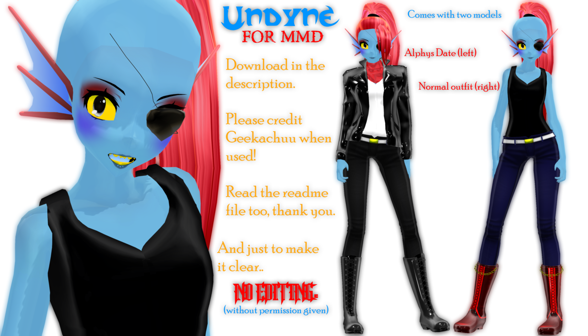 Undyne   Download by Geekachuu 1183x676