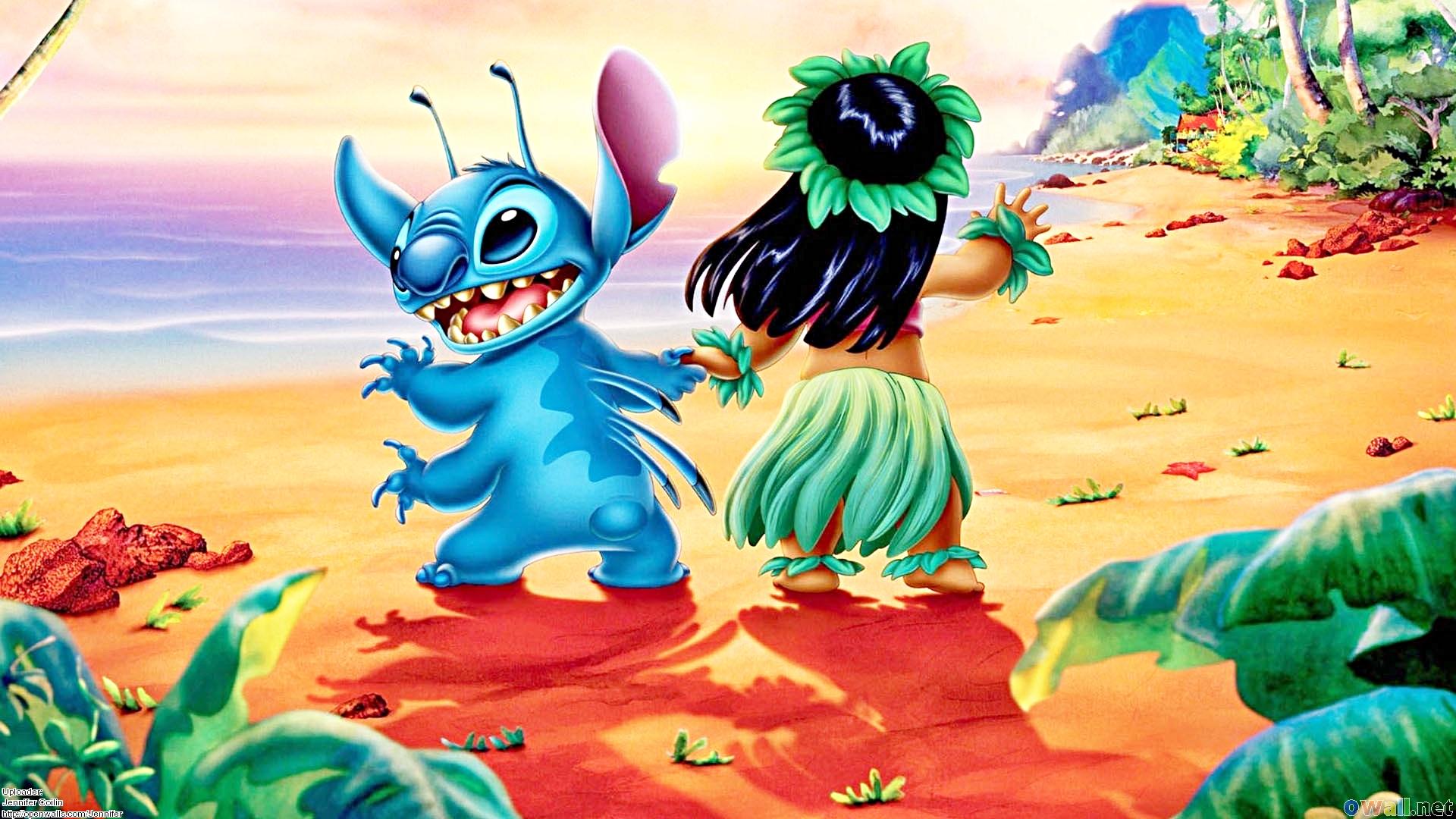 Walt Disney Wallpapers   Stitch amp Lilo Pelekai   Walt 1920x1080