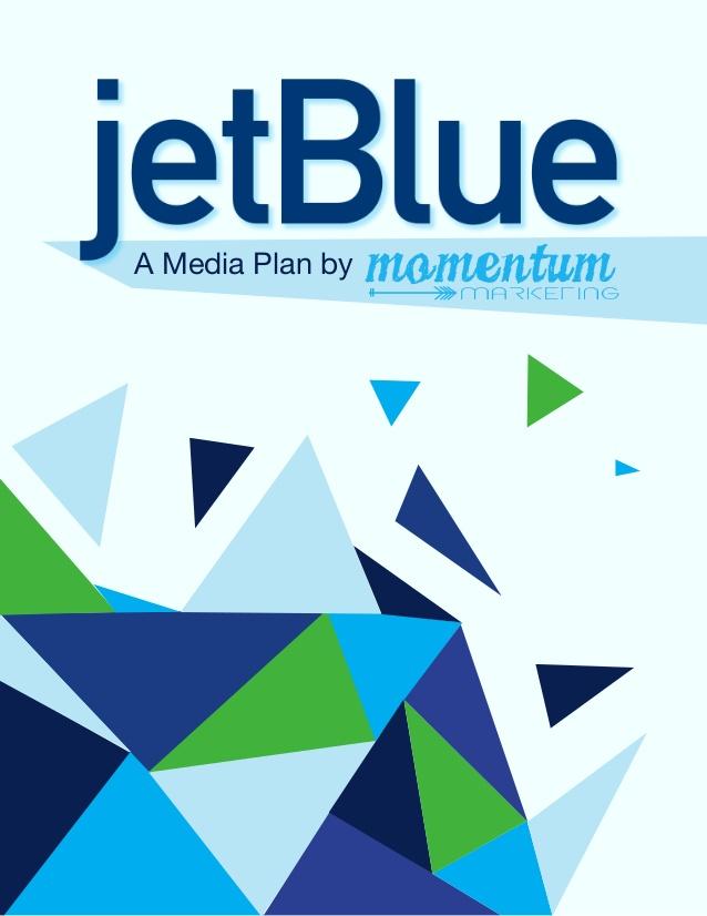 JetBlue Media Plan 638x826