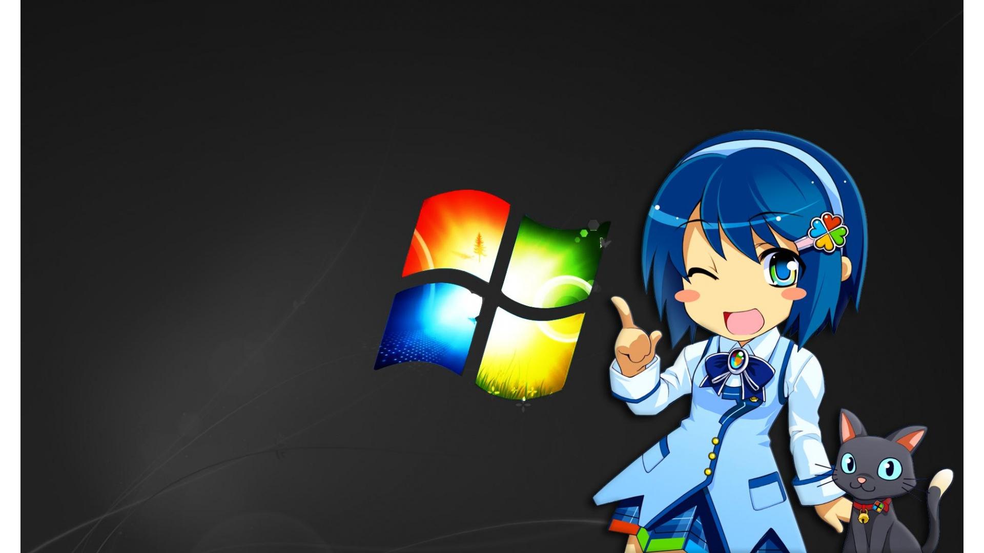 48 Anime Wallpaper Windows Girl On Wallpapersafari