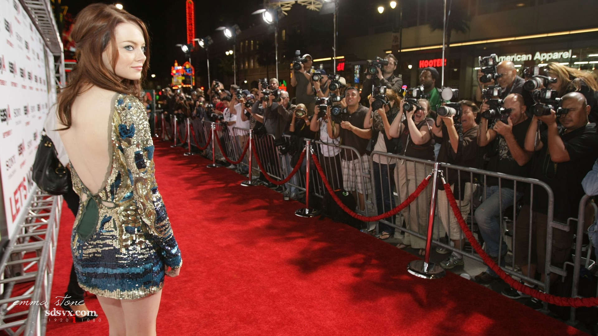 Red Carpet Emma Stone Google Skins Red Carpet Emma Stone Google 1920x1080