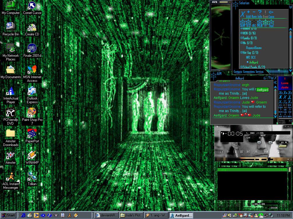 Google themes matrix - Matrix Theme Screenshot By Judetrinity On Deviantart