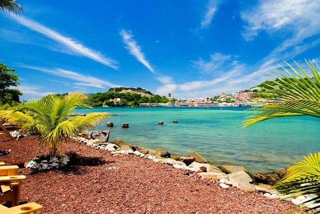 Pin Grenada Caribbean Sea Wallpapers Landscape Nature Hd City on 640x427
