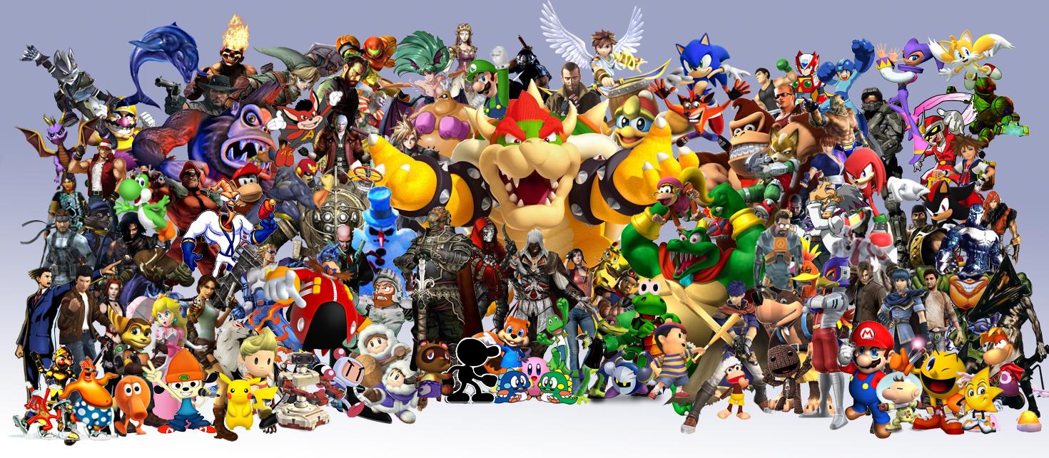 Game Characters Wallpaper - WallpaperSafari