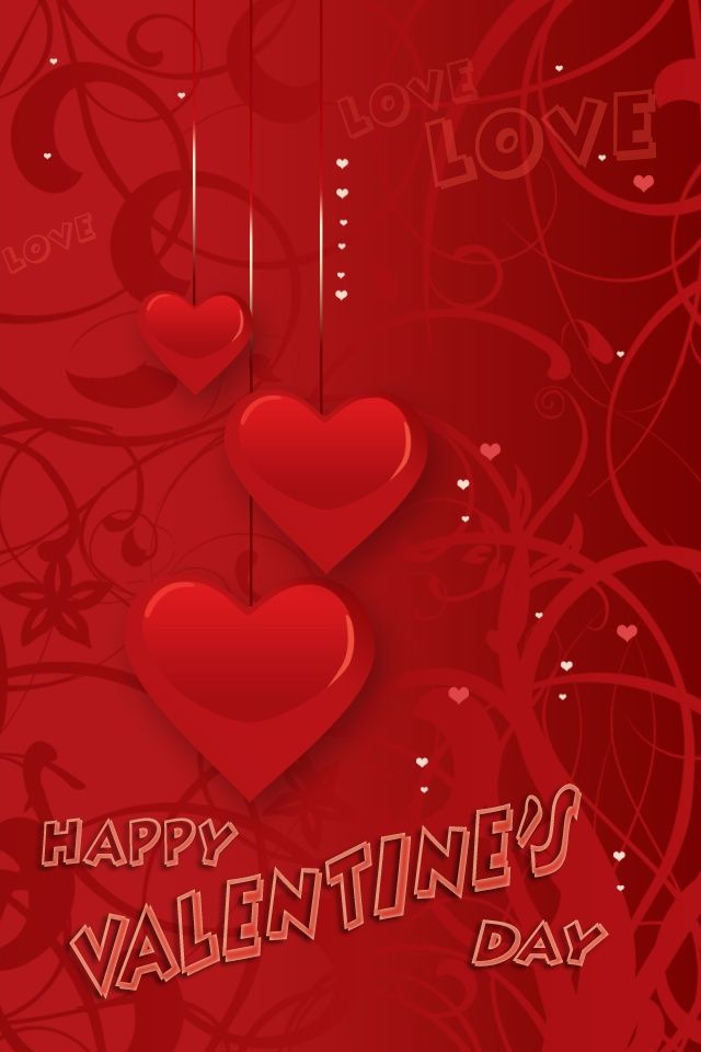 41 Cute Valentine iPhone Wallpapers To Download Valentines 640x960