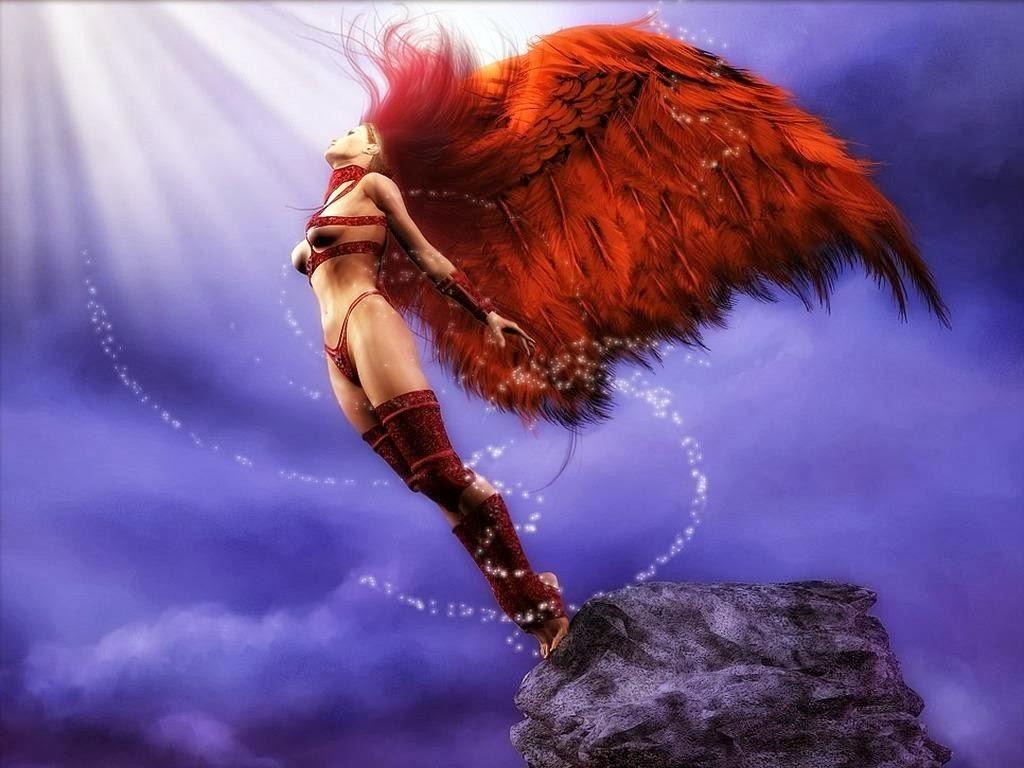 Angel Desktop Wallpaper 1024x768