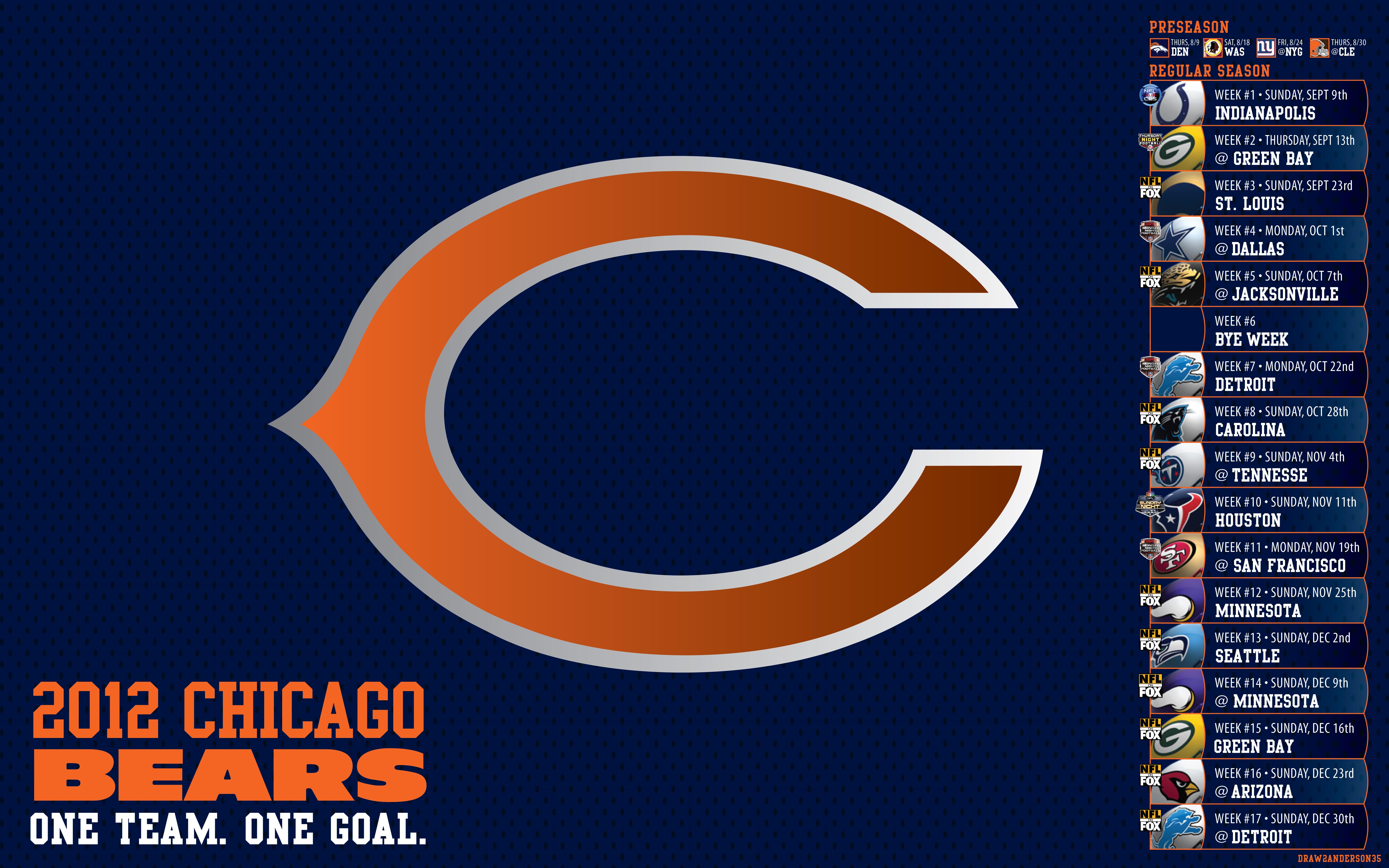 Outstanding Chicago Bears wallpaper Chicago Bears wallpapers 8000x5000