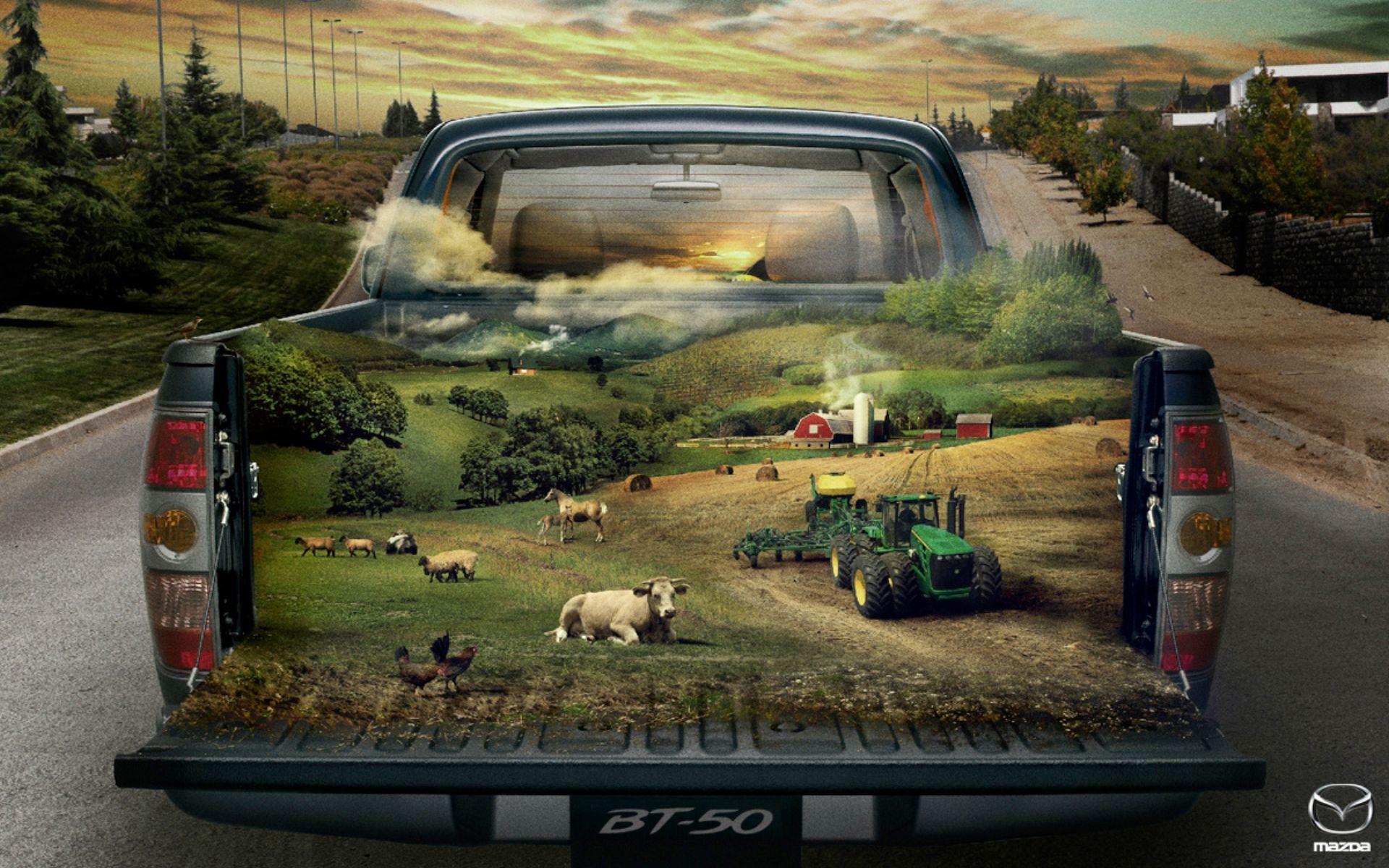50 Farm Wallpaper Mazda BT 50 Farm iPhone Wallpaper Mazda BT 50 Farm 1920x1200